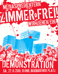 27.11.2010 Demo gegen das nhow-Luxushotel